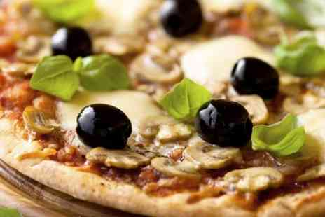 Ambers Cafe - Pizza and Drink For Two - Save 49%