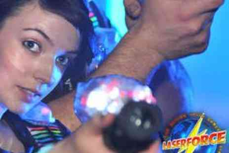Laserforce NI - Two Mission Family Laser Tag Experience - Save 52%