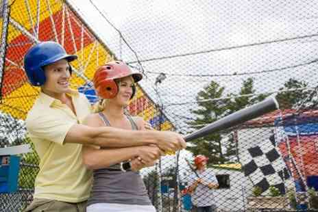Universal Sports Arena - 30 Minute Baseball Batting Cage Session - Save 30%
