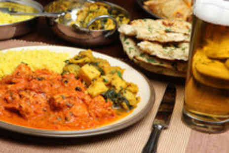Shiraz Cuisine - Two Course Indian Meal for Two - Save 52%