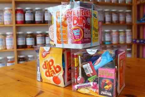 Sugar Sugar Retro Sweet Shop - Large Retro Sweet Gift Cube - Save 40%