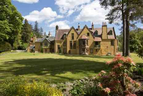 Leithen Lodge - Three Night Weekend or 4 Night Midweek Stay For Two  - Save 50%