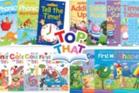 Top That Publishing - Interactive educational books - Save 50%