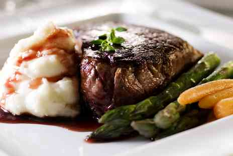 The Bull and Willow Room - Steak Dinner & Bubbly for 2  - Save 56%