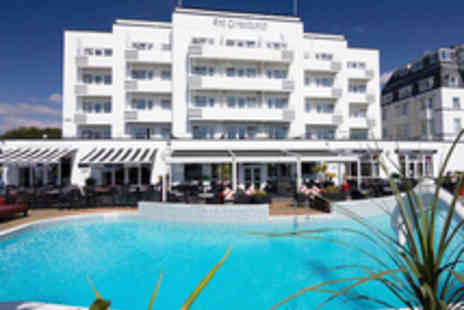 The Cumberland - Two Night Bournemouth Dining Getaway for Two Including a Choice of Spa Treatments - Save 57%