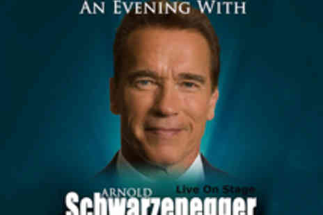 Rocco Buonvino Productions - Tickets to An Evening with Arnold Schwarzenegger Hosted by Jonathan Ross - Save 9%