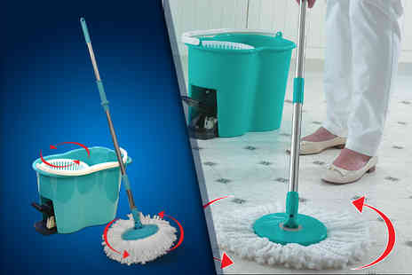 Good Ideas Online - Spin mop and pail - Save 40%