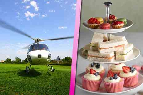 Experify - 12 mile helicopter ride for two including an afternoon tea - Save 56%