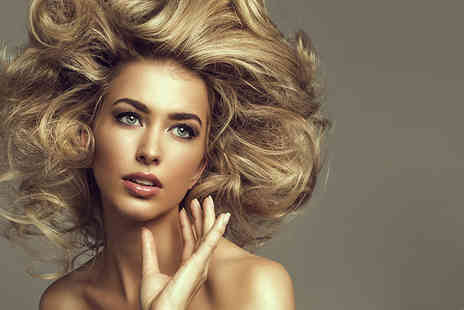 Hair By Andy - Half head of highlights or full head of colour, plus a cut, condition & blow dry - Save 72%