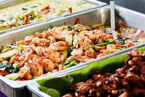 Tara Tari - All You Can Eat Buffet with Glass of Wine for Two  - Save 55%