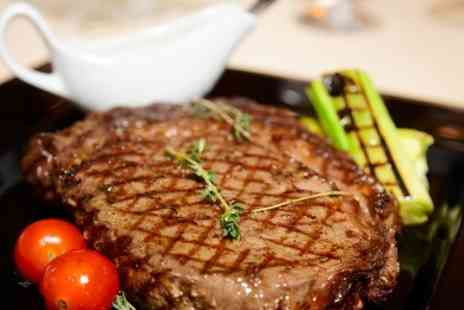 The Green Tree - Rib Eye Steak With Wine For Two - Save 50%