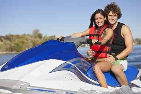 Lagoona Park jet ski - Shared Jet Bike or RIB Experience For Two  - Save 24%