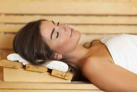 Pure Spa - Massage or Facial Plus Infrared Sauna Session - Save 52%