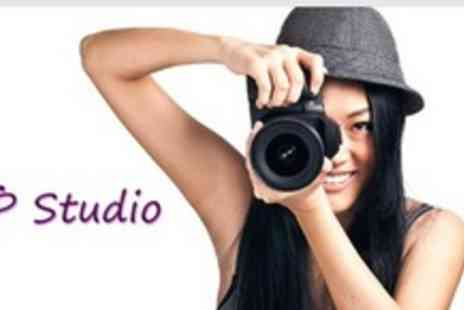 PTP Studio - Full Day Studio Photography Course With Lunch - Save 65%