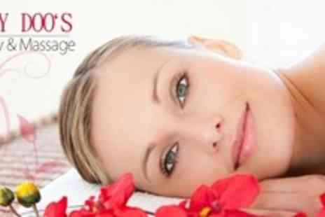Daisy Doo's Beauty & Massage - Full Body Massage With Choice of Facial Plus Back Scrub - Save 73%