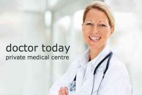 Doctor Today - Head to Toe Medical Assessment with GP Consultation and Blood Profile for £79 - Save 77%