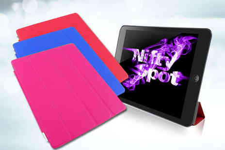 Nifty Spot - Smart Fold iPad Case in Choice of Colour - Save 72%