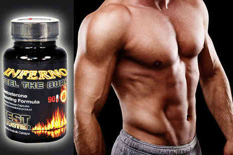 GB supplement - One Month Supply of Testosterone Boosting Capsules  - Save 74%