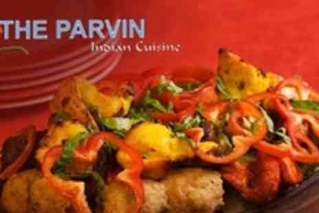 The Parvin - Two Course Indian Meal For Four - Save 68%