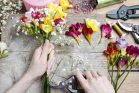 School of Floristry - Beginners Floristry Class for One - Save 61%