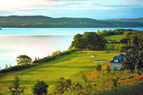Cameron House - Loch Lomond Golf Day for Two  - Save 43%