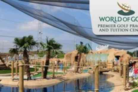 World of Golf Croydon - £9 Crazy Golf For Family of Four - Save 64%