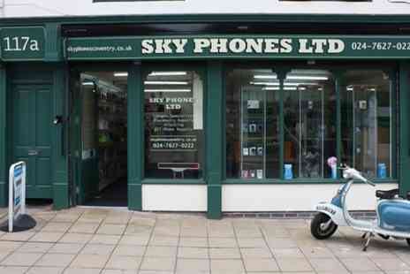 Sky Phones - Screen Repair For iPhone  or iPad or Samsung - Save 50%