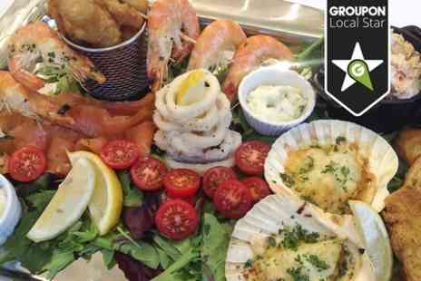 The Gallery Restaurant Harrogate - Seafood Platter For Two - Save 48%