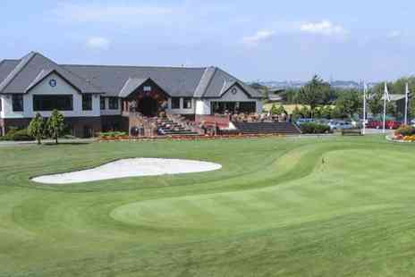 Peterstone Lakes - 18 Holes With Bacon Roll For Two - Save 55%