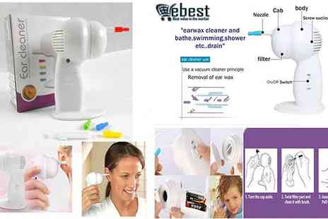 E-Best - Cordless Electric Ear Cleaner for Removing Wax - Save 71%