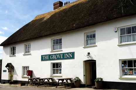 The Grove Inn - Award Winning two Course Meal & Prosecco for two - Save 49%