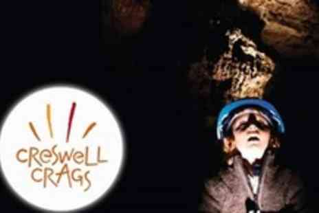 Creswell Crags - Family Pass For Ice Age Cave Tour - Save 58%