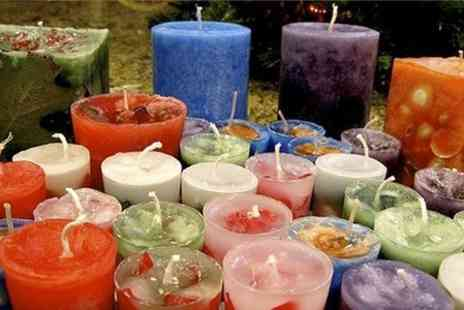 The Soul Sanctuary - 2.5 Hour Candle Making Class  - Save 50%