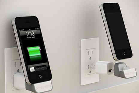 Aspa Supplies - Wireless Charging Dock For iPhone 4 or iPhone 5 - Save 71%