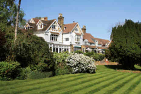 Rowhill Grange and Utopia Spa - One night stay in Kent Getaway for Two - Save 36%