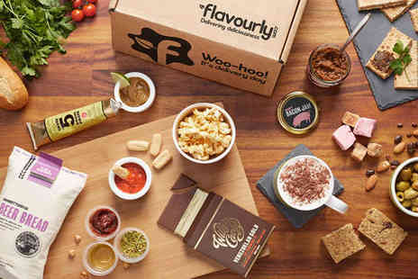 Flavourly - Deluxe Flavourly Gourmet Food and Snack Box - Save 65%