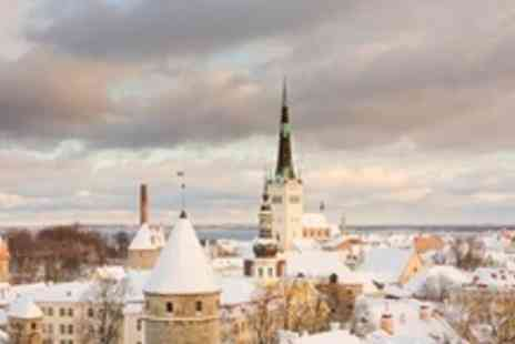 Tallinn Historical Hotels - Three Night Stay For Two With Night Club Tickets and Breakfast - Save 48%