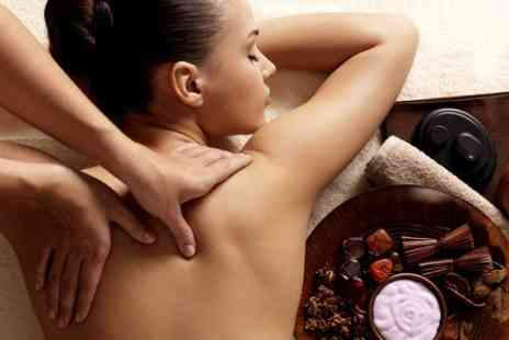 Essential Spa - Back and Foot Massage - Save 55%
