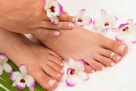 Studio123 - Manicure or Pedicure With Gel Polish - Save 36%