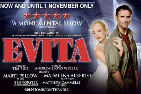 Evita - Tickets to Evita  - Save 36%