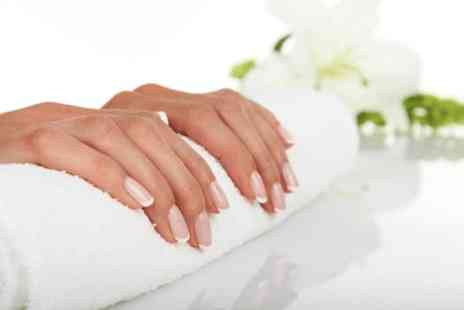 Beauty of the Orient - Gel nail extensions with french or single colour - Save 50%