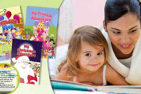 Star Stories - Personalised Childrens Story Book  - Save 50%