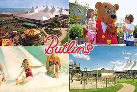 Butlins -  25th - 30th Oct. Family Day Pass to Butlins Bognor Regis - Save 50%