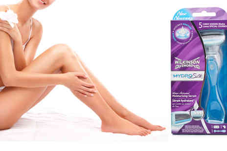Health Pharm - Wilkinson Sword for Women Hydro Silk Razor x 5 - Save 36%