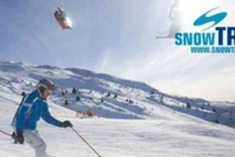 SnowTrex - Seven Night Stay For Two or Four in Self Catering Apartment With Ski Pass - Save 37%