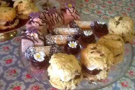 Lucys Tea Room - Coffee and Cake For Two - Save 46%
