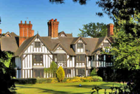 Nailcote Hall Hotel - Overnight stay for two In Warwickshire - Save 48%