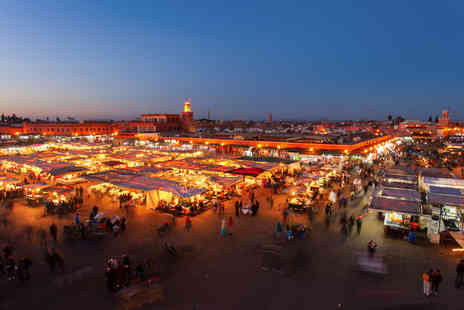 Enjoy Holiday - Two night trip to Marrakech including flights and breakfast - Save 32%