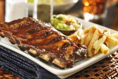 Ashbys Boutique Hotel - Endless Barbecue Ribs For Two - Save 47%