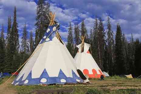 4 Winds Lakeland Tipis - Three Night Tipi Stay For Four  - Save 50%